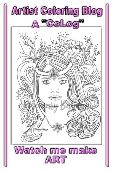 Adult Coloring Blog Pin