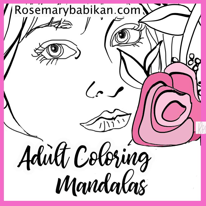 Adult Coloring Mandalas