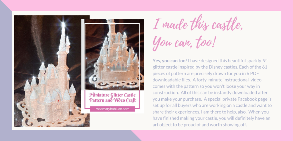Purchase Page for Glitter Castle